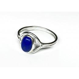 Lapis-lazuli Silver ring