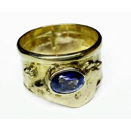 18 ct gold Ceylan Saphir ring