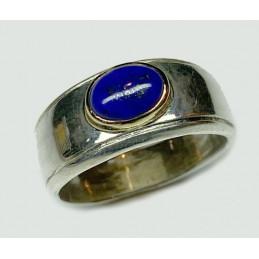 Lapis lazuli silver ring...
